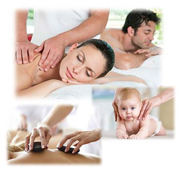 Natural Therapeutics massage for all ages and hot stone massage